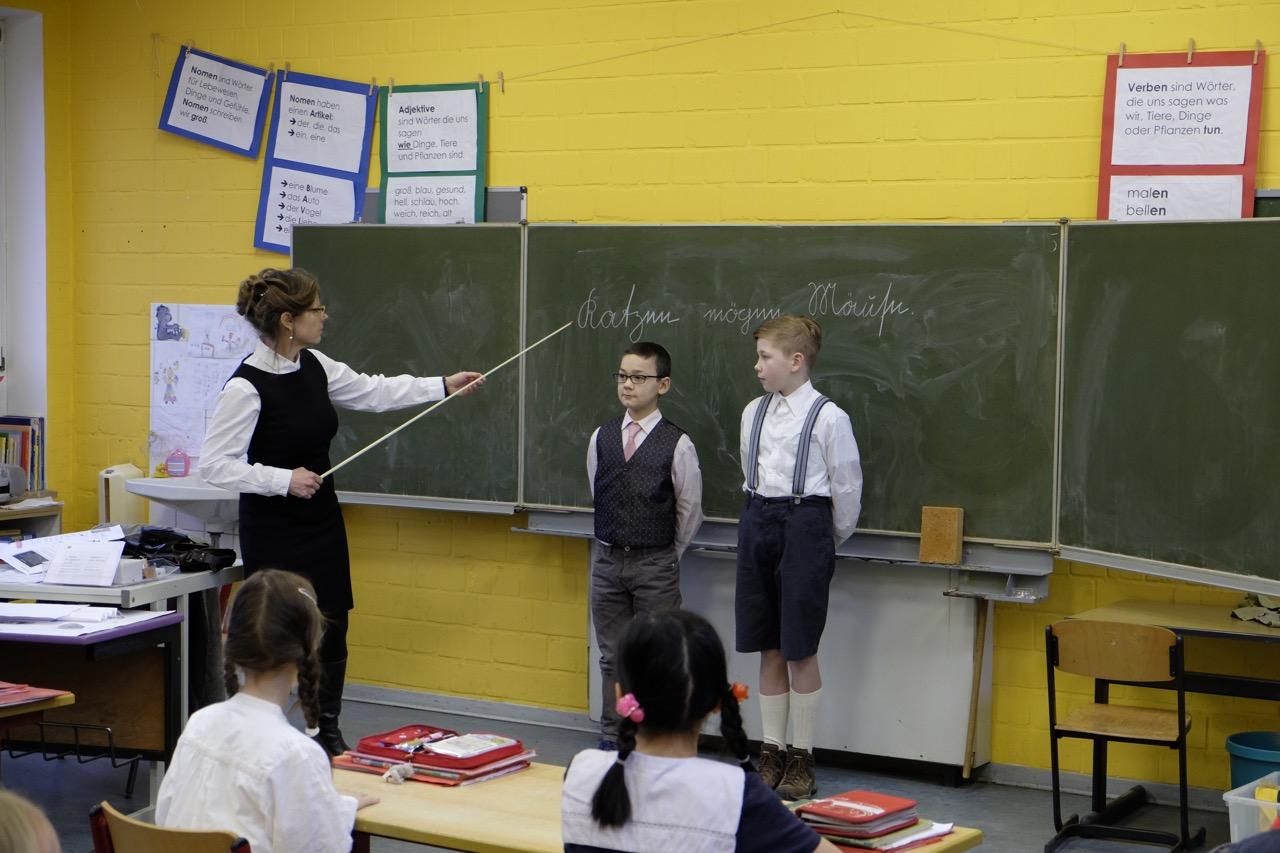 » Schule früher 3a - Grund- und Gemeinschaftsschule Heikendorf
