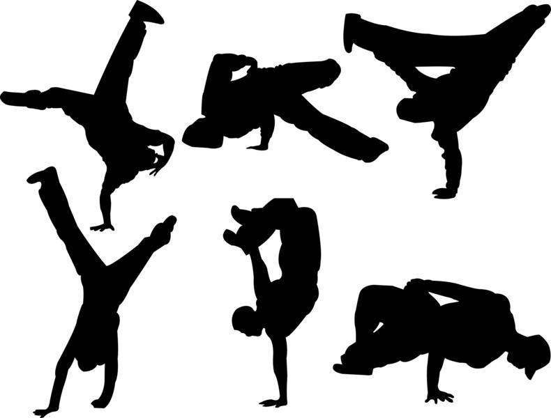 Breakdance Piktogramme