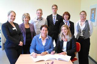 Unterzeichnung Kooperationsvertrag mit Kieler Volksbank