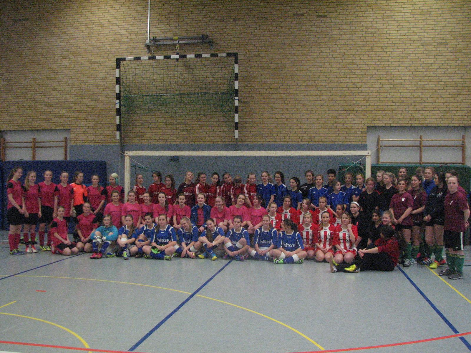 Teilnehmer Fußballturnier Mä WS 2014